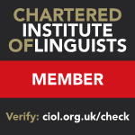 Certified French translator Northwich Cheshire